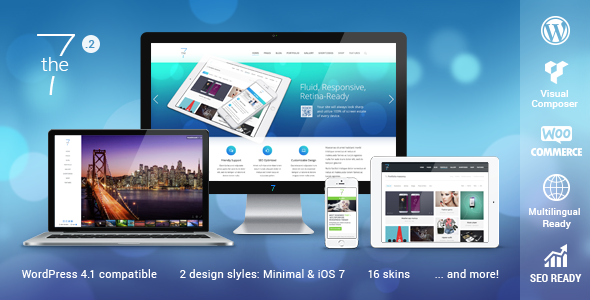 dt the7 wordpress theme free download