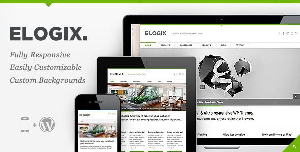 Elogix Responsive Business Wordpress Theme Gpl Plugins